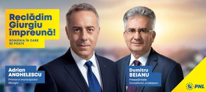 Candidatii PNL la alegerile locale Giurgiu